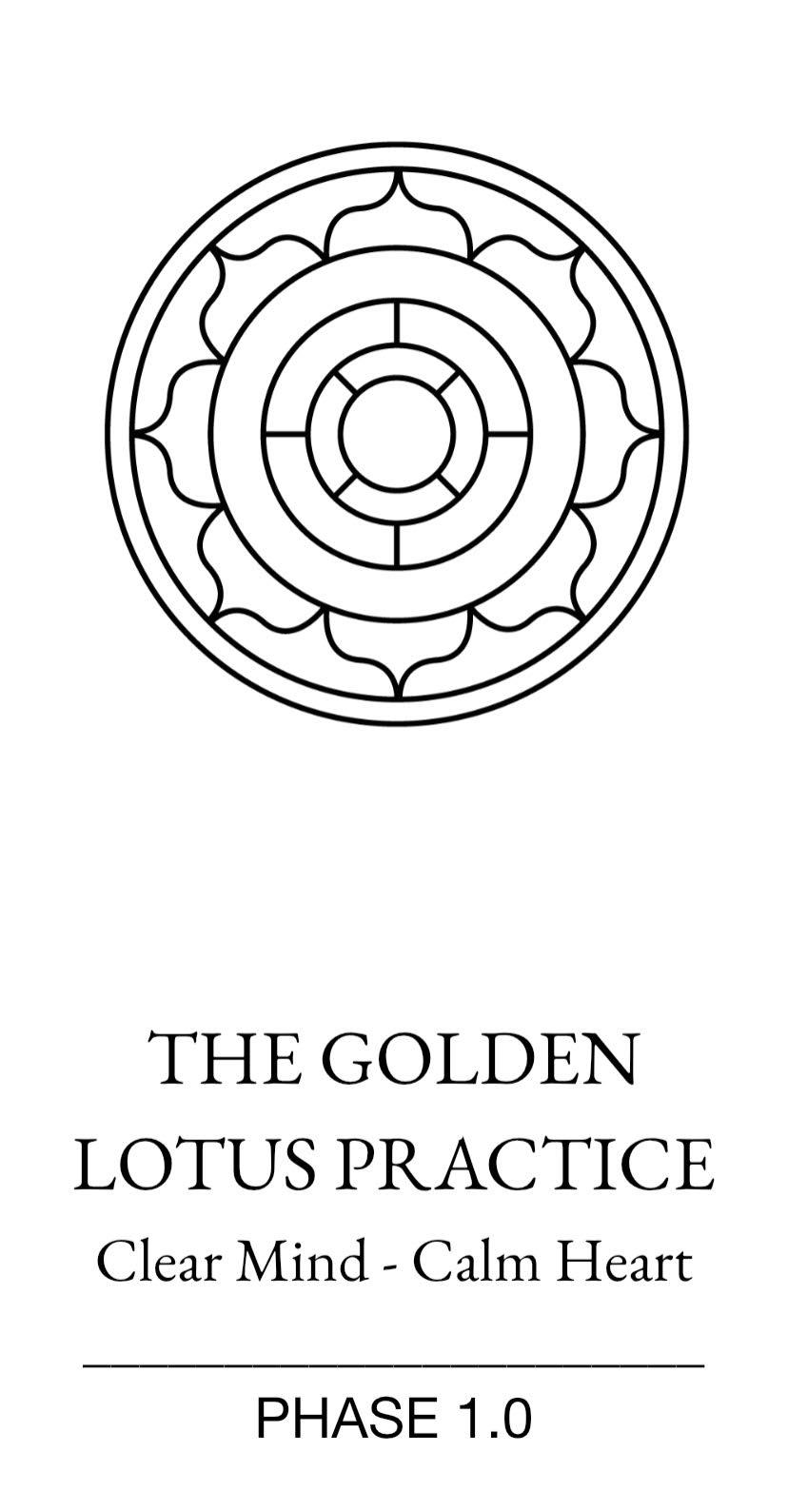 The Golden Lotus Practice Brochure Download